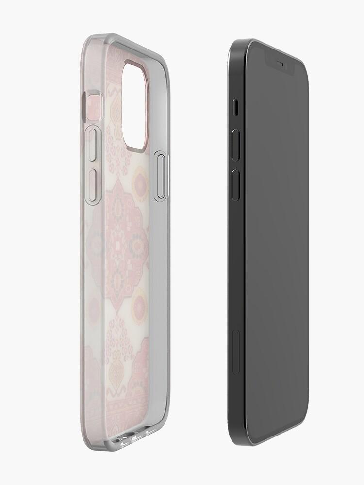 coque iphone look de tapis persan couleur cuivre par almawad redbubble