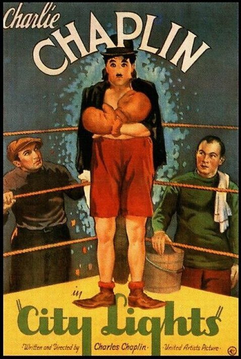 Poster Image  Chaplin's City lights