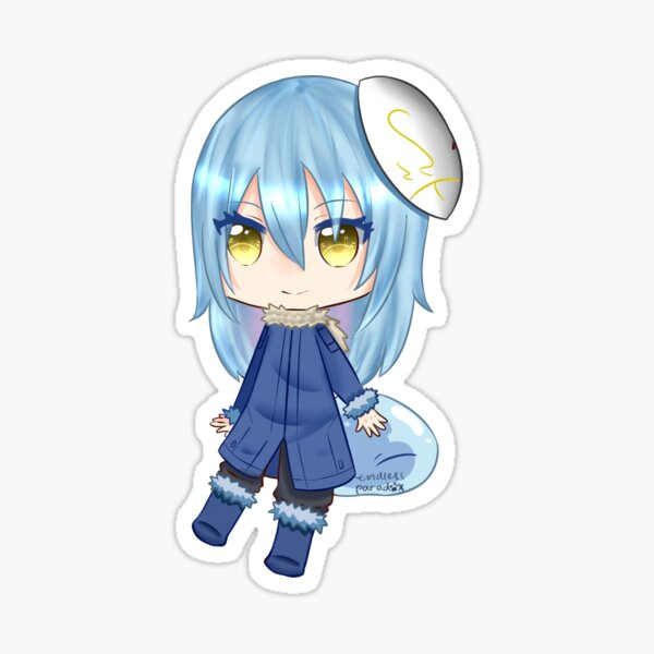 New collab characters such as demon lord rimuru tempest,. Rimuru Tempest Stickers Redbubble
