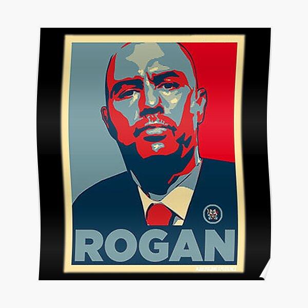 poster joe rogan redbubble