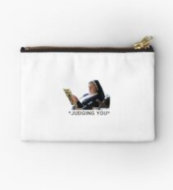 Sister Michael Derry Girls judging you Zipper Pouch