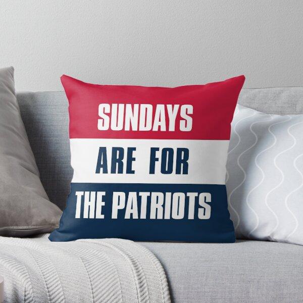 new england patriots pillows cushions redbubble
