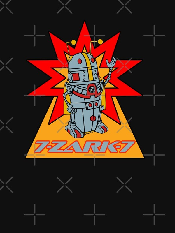 """7 Zark 7 from Battle of the Planets"" T-shirt by drquest ..."