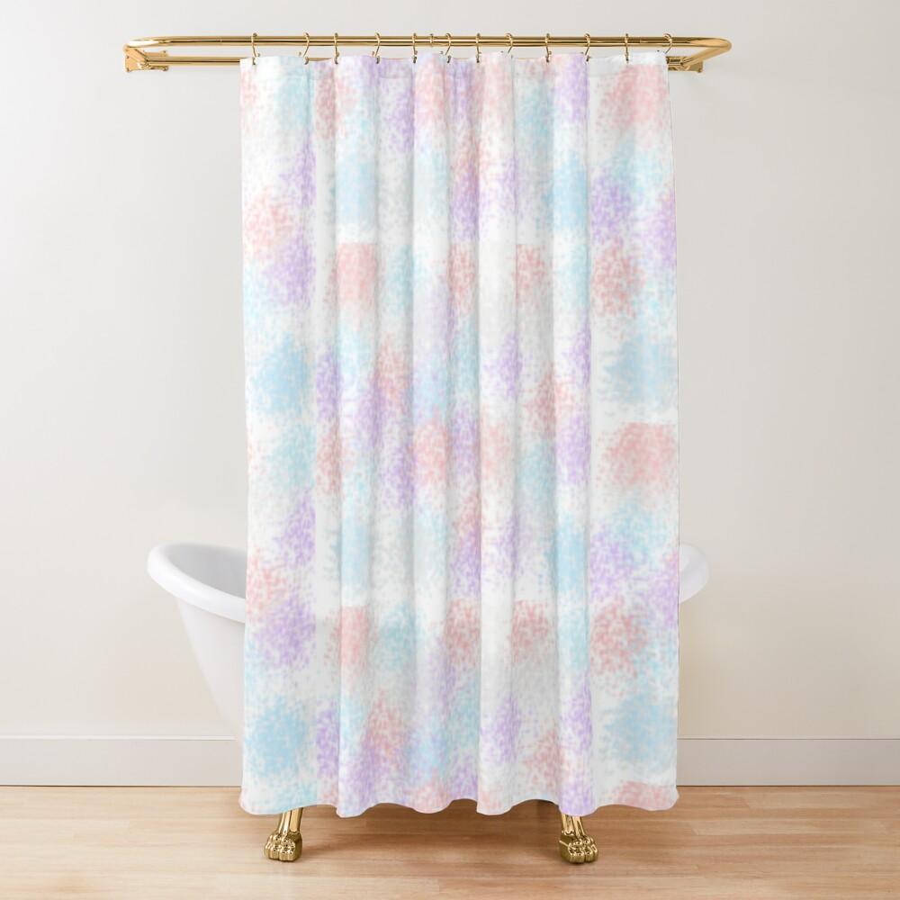 pastel shower curtain by annadeunicorn redbubble