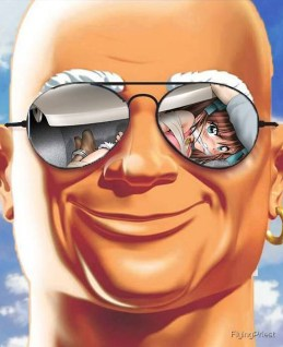"""Mr Clean cleans out his trunk"""" iPad Case & Skin by FlyingPriest 