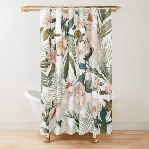 lush shower curtains redbubble