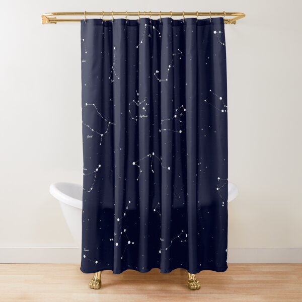 space shower curtains redbubble