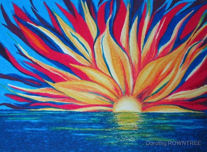 Sunrise Starburst By Dorothy ROWNTREE Redbubble