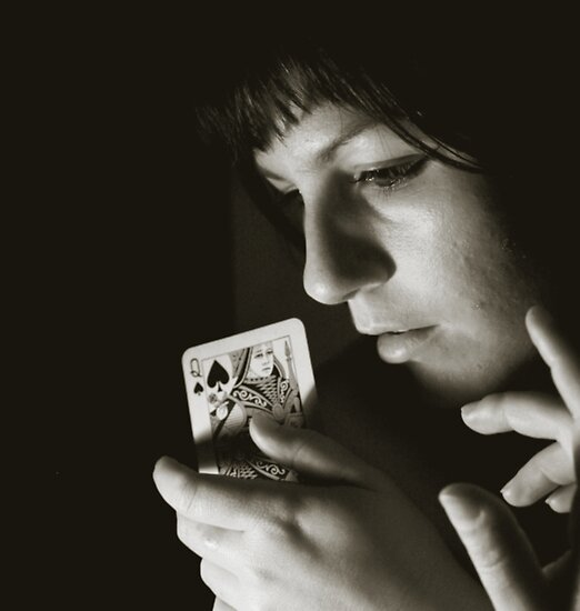 Queen of Spades by © Dokmai