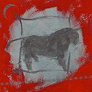 35 TAURUS MOON by dkatiepowellart