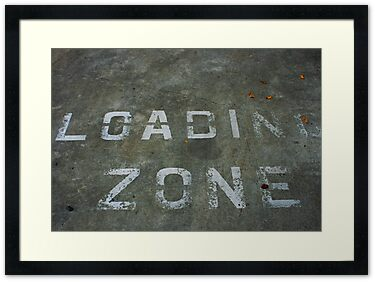LOADING ZONE, by Stephen Mitchell, on Redbubble