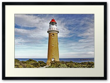 Framed Print: Cape du Couedic Light House