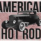 American Hot Rod - red version by htrdesigns
