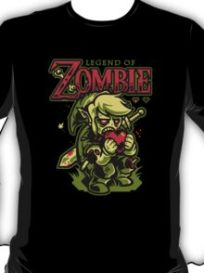 Legend of Zombie Shirt. When there's no room left in the Water Temple the dead will walk upon Hyrule!!