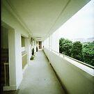HDB apartment corridor