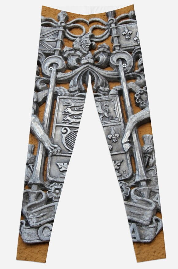 Metal Canada Coat of Arms Leggings by stine1 on Redbubble
