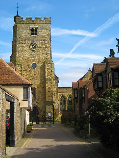 """Church of St Peter & St Paul - Tonbridge"" by Mel Harrison ..."