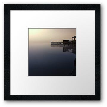 Foggy Night at Lilydale Lake #1