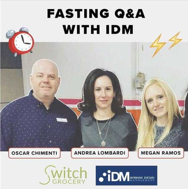 Fasting Q&A with IDM