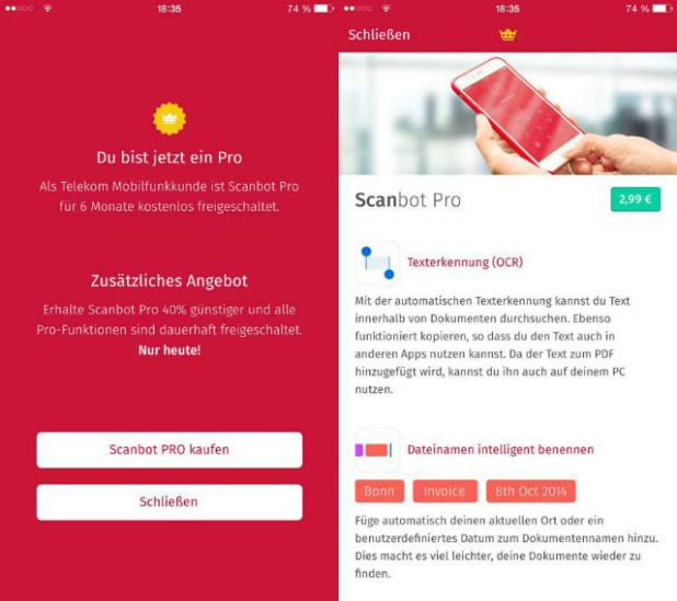%name Scanbot – PDF Document Scanner Pro v4.0.3 Apk