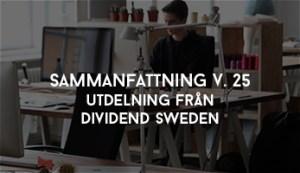 Utdelning Från Dividend Sweden