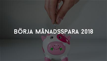 Börja Månadsspara 2018
