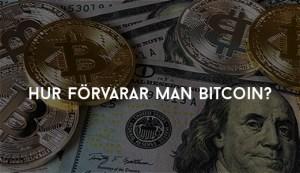 Hur förvarar man Bitcoin