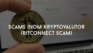 Så mycket scams inom kryptovalutor (Bitconnect scam)