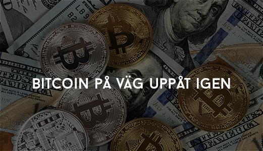 Bitcoin på väg uppåt igen