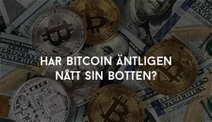 Har Bitcoin äntligen nått sin botten