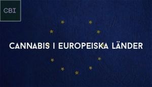 Cannabis i Europeiska länder