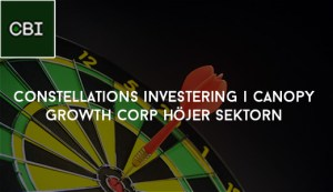 Constellations investering i Canopy Growth Corp höjer sektorn