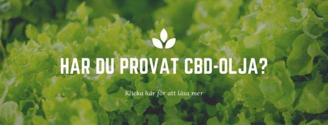Försäljning av medicinsk cannabis prova CBD-olja