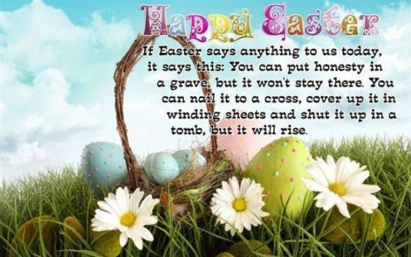 happy easter wishes greetings wallpaper
