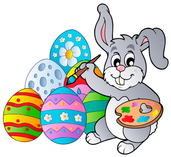 Easter Bunny Egg Clipart