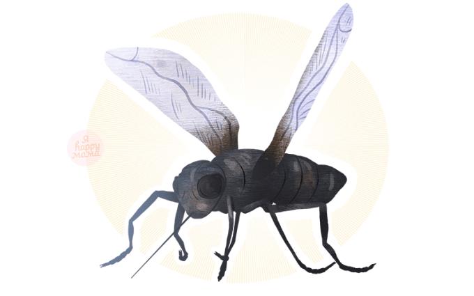 Загадки про комара для детей