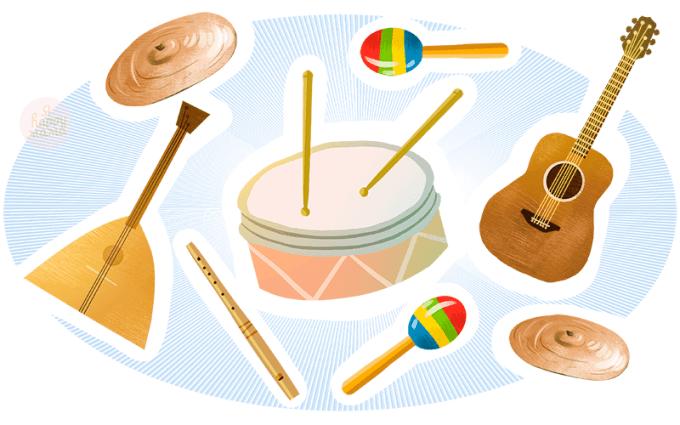 Загадки про музыку и музыкальные инструменты