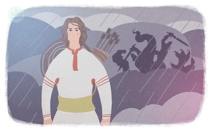 Сказка Бой на Калиновом мосту