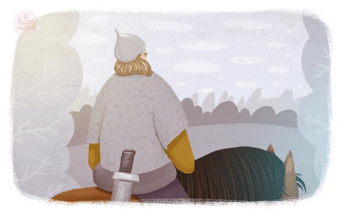 Сказка Илья Муромец и Соловей-разбойник