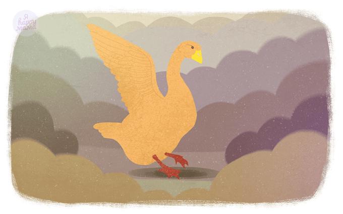 Сказка Золотой гусь