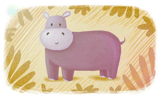 Колыбельная сказка про бегемота