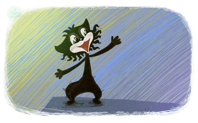 Песня Здравствуй, детство! из мультфильма «Чучело-мяучело»