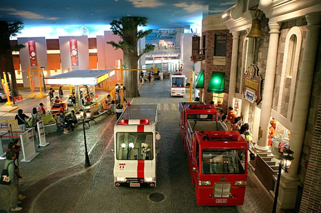 Kidzania Tokyo Integrate Education and Entertainment