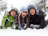 Что обязательно нужно сделать вместе с ребенком зимой