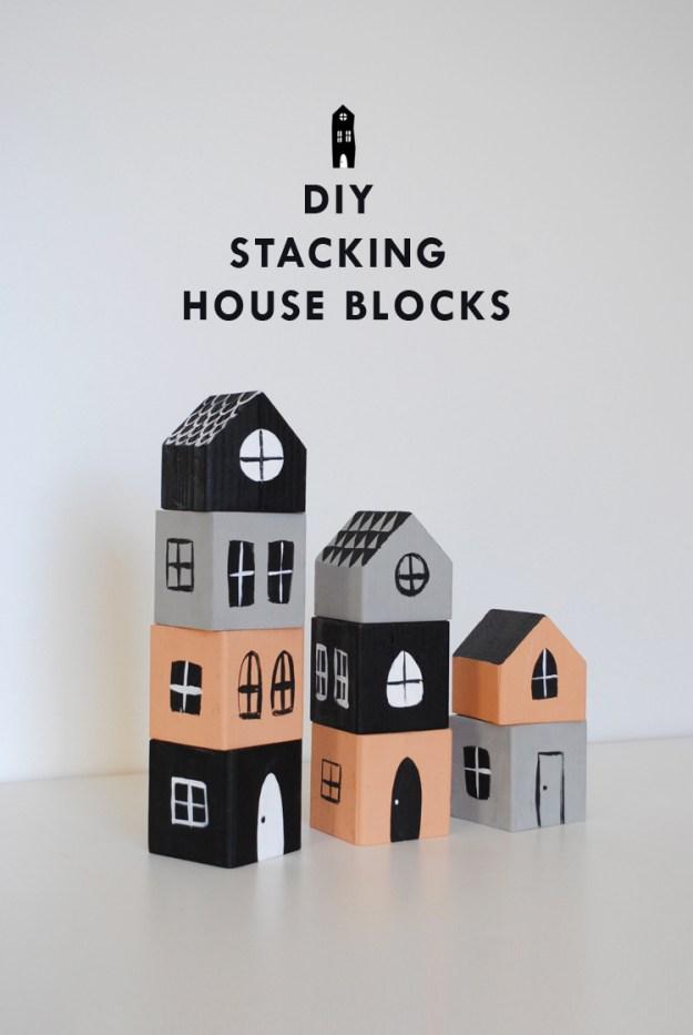 кубики домик