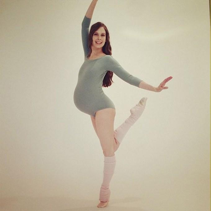 балерина беременна1