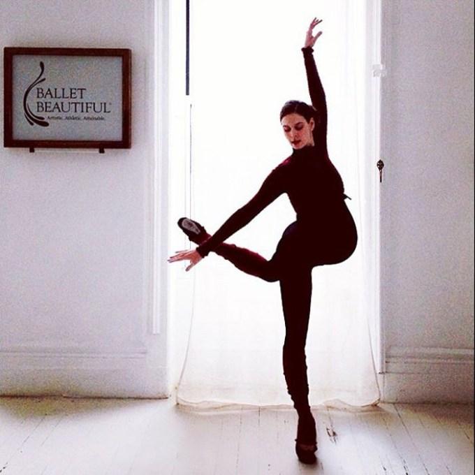 балерина беременна2