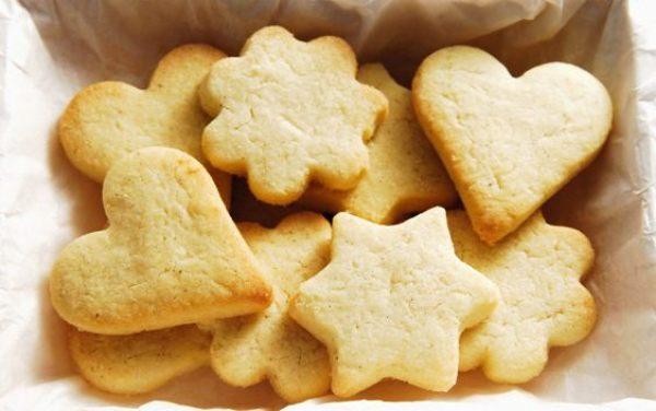 песочное печенье для детей
