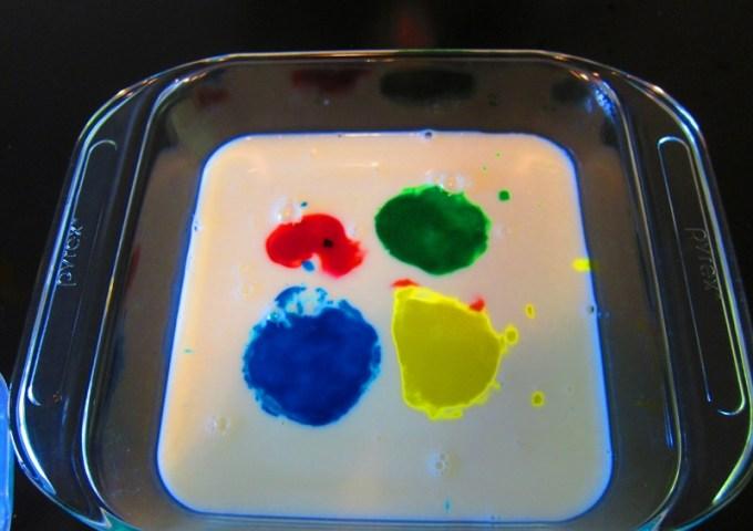 рисуем на молоке3