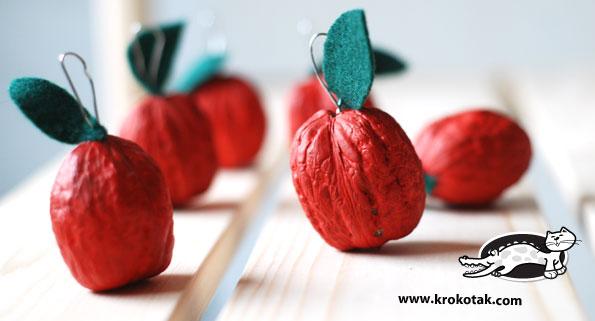 декоративные яблоки своими руками